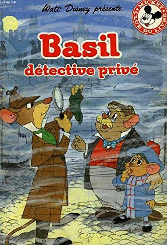 9782245021040: Walt Disney pr�sente - Basil d�tective priv�