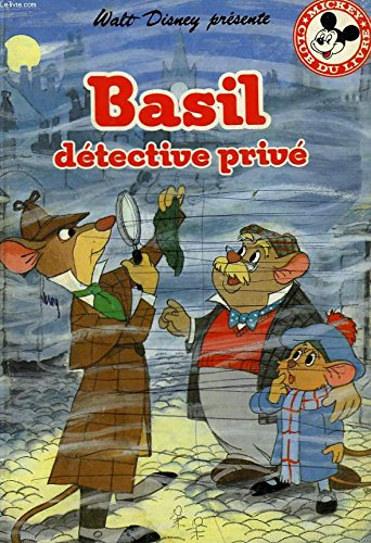 9782245021040: Walt disney presente, basil, detective prive