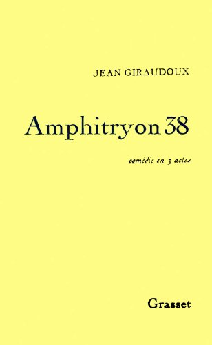 9782246001515: Amphitryon 38