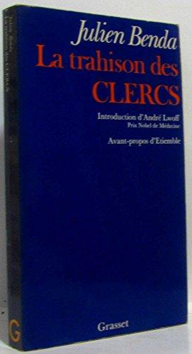 9782246001911: La Trahison des clercs