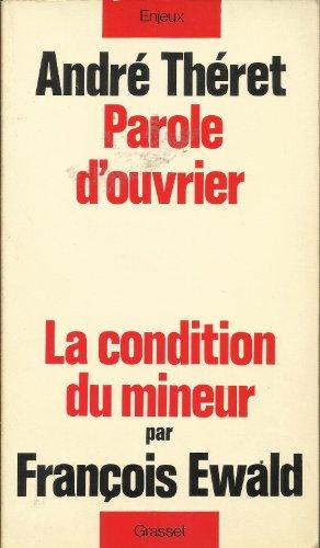 9782246005667: Parole d'ouvrier (Enjeux) (French Edition)
