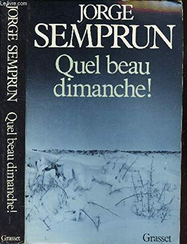 9782246008880: Quel beau dimanche (French Edition)