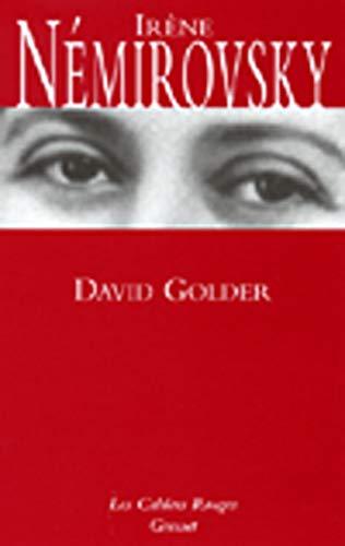 9782246151449: David Golder (Les cahiers rouges)