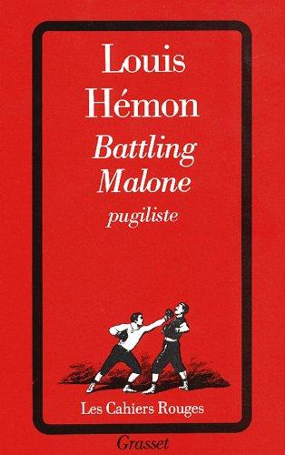 9782246186120: Battling Malone, pugiliste