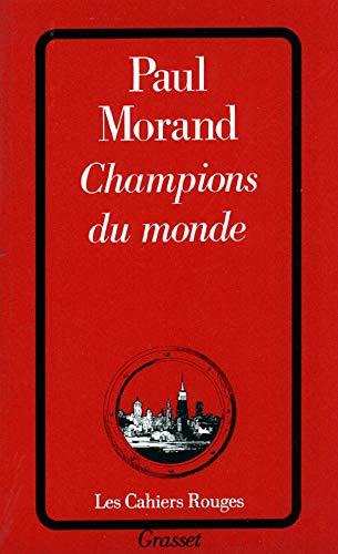 9782246189824: Champions du monde