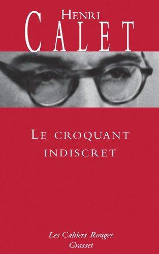 9782246216735: Le Croquant indiscret