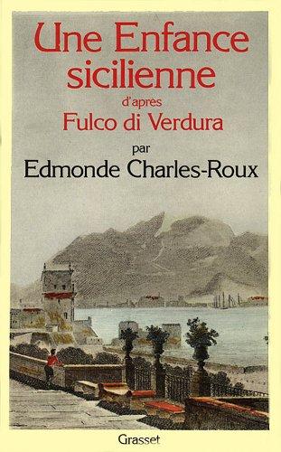 9782246242611: Une enfance sicilienne par Fulco di Verdura