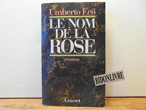 9782246245117: Le nom de la rose