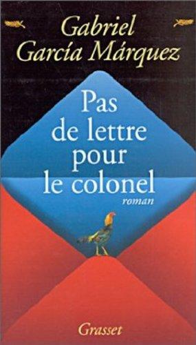 9782246252337: Pas de lettre pour le colonel (French Edition)