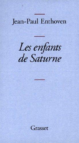 9782246265313: Les enfants de Saturne (French Edition)