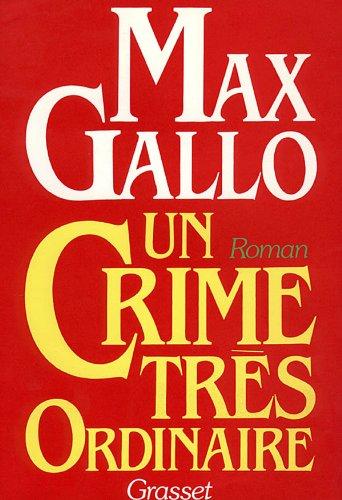 9782246266914: Un crime tr�s ordinaire