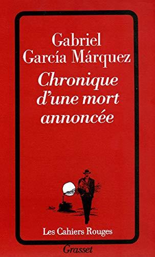 9782246267423: Chronique D Une Mort Annoncee