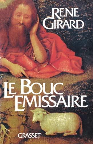 Le bouc emissaire: Girard, Rene