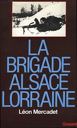 9782246308119: La brigade Alsace-Lorraine