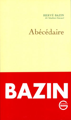 Abecedaire (French Edition): Bazin, Herve