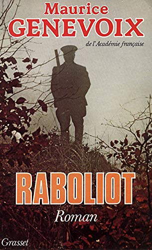 9782246337454: Raboliot (French Edition)