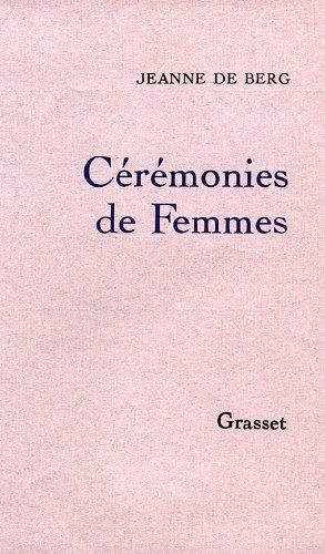9782246365310: Cérémonies de femmes (French Edition)