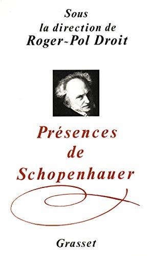9782246414513: Présences de Schopenhauer