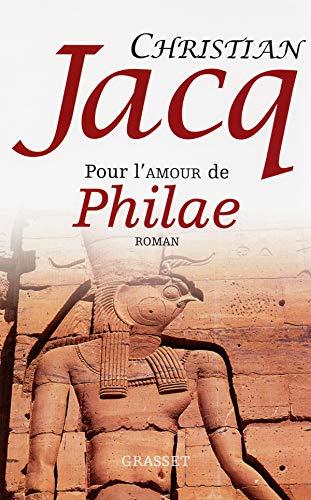 9782246423928: Pour l'amour de Philae
