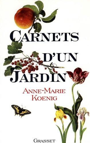 9782246489214: Carnets d'un jardin