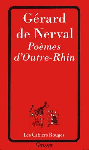 9782246501718: Poèmes d'outre-Rhin