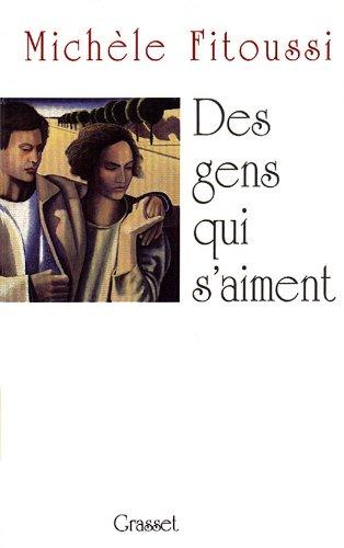 Des gens qui s'aiment: Nouvelles (French Edition) (2246528216) by Fitoussi, Michele