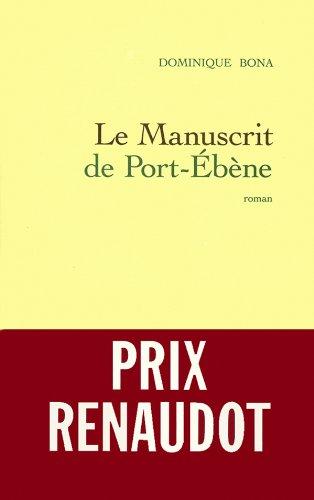 9782246537014: Manuscrit De Port-Ebene (French Edition)