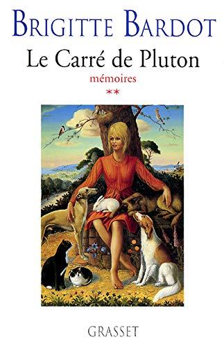 9782246595014: Le carré de Pluton: Mémoires (French Edition)