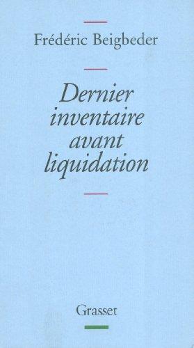 9782246596912: Dernier inventaire avant liquidation