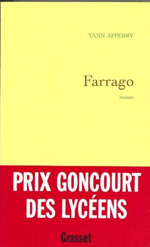 9782246614814: Farrago - Prix Goncourt des lycéens 2003
