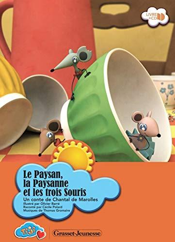 9782246688518: Le Paysan, la Paysanne et les trois Souris (1CD audio) (French Edition)