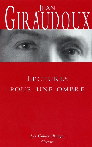 9782246696322: Lectures pour une ombre (French Edition)