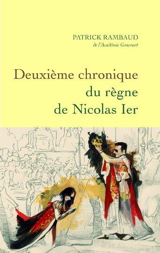 9782246752318: Deuxième chronique du règne de Nicolas Ier