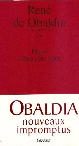 9782246757016: Merci d'être avec nous (French Edition)