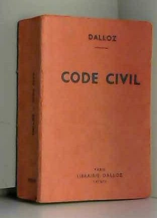 9782247002962: Code civil (Petits codes Dalloz)