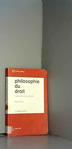 9782247003280: Philosophie du droit