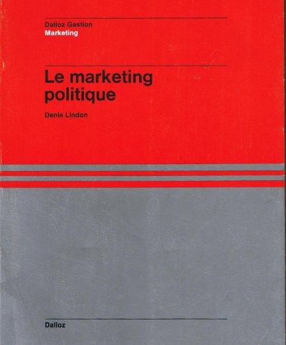 9782247006847: Marketing politique