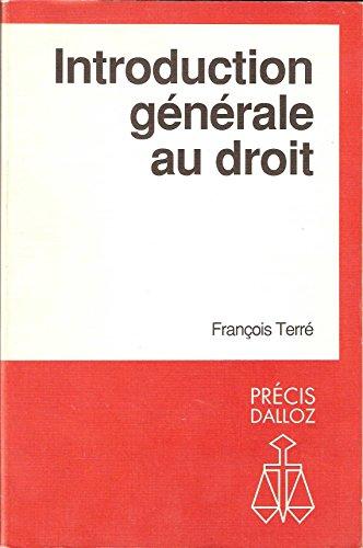 9782247012992: Introduction générale au droit