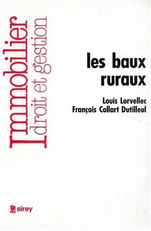 Les baux ruraux: Lorvellec, Louis