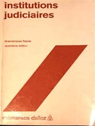 9782247017423: Institutions judiciaires