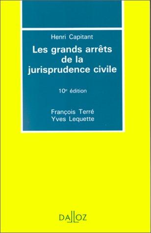9782247017768: LES GRANDS ARRETS DE LA JURISPRUDENCE CIVILE