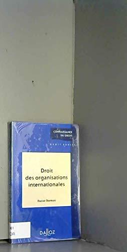 9782247018963: Droit des organisations internationales, 1re �dition