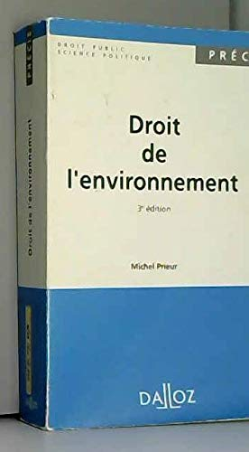 9782247020867: Droit de l'environnement (Precis Dalloz) (French Edition)