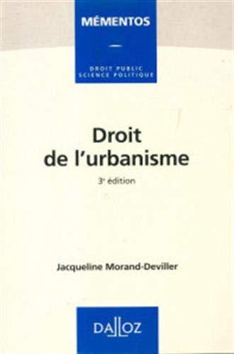 9782247021024: Droit de l'urbanisme