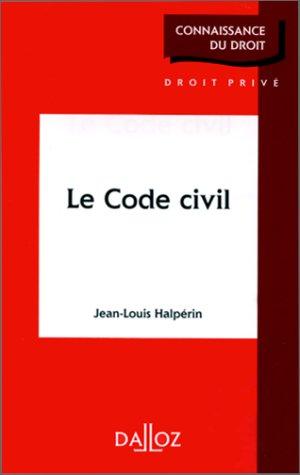 9782247025213: Le code civil