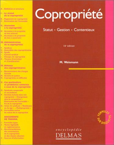 9782247029150: Copropriété: Statut, gestion, contentieux