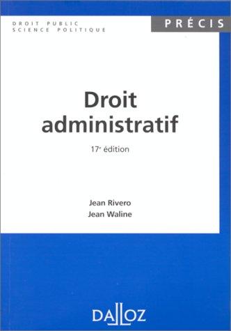 Droit administratif: Jean Rivero et