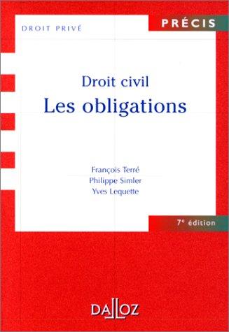 9782247033171: Droit civil : Les obligations, 7e édition