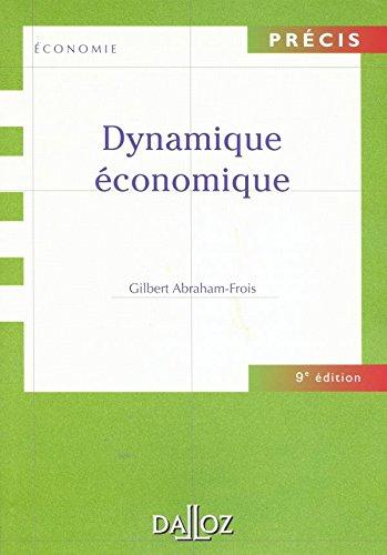 9782247039715: Dynamique économique
