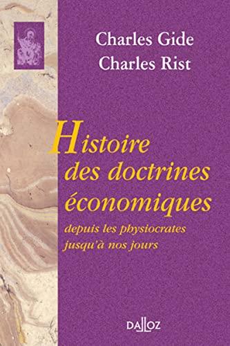 9782247041299: Histoire des doctrines économiques depuis les physiocrates jusqu'à nos jours